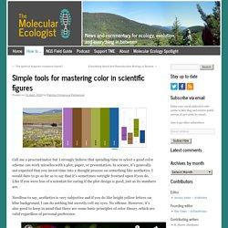 Simple tools for mastering color in scientific figures