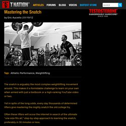 Mastering the Snatch