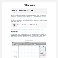 Mastering the basics of Axure - Totalwireframe