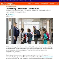 Mastering Classroom Transitions