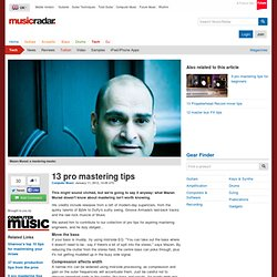 13 pro mastering tips