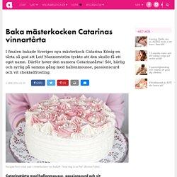 Baka mästerkocken Catarinas vinnartårta