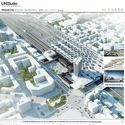Masterplan & Train Station » UNStudio