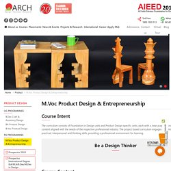 Masters Courses in Product Design