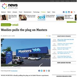 Masters Hardware to close down