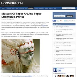 Los capitanes de Esculturas de papel y papel, parte II