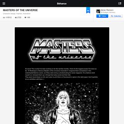 MASTERS OF THE UNIVERSE on the Behance Network