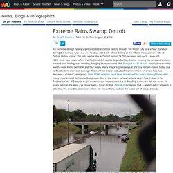 Extreme Rains Swamp Detroit