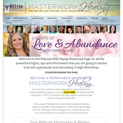 3 Nights of Love & Abundance with Mary A. Hall