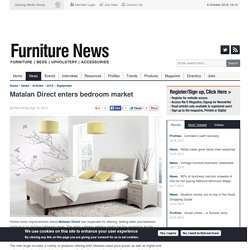 Matalan Direct enters bedroom market