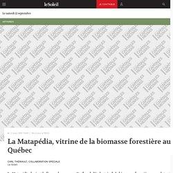 LE SOLEIL 02/03/10 La Matapédia, vitrine de la biomasse forestière au Québec