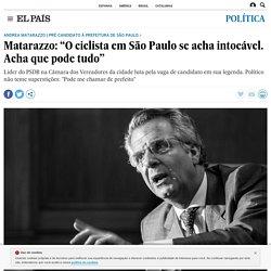 """Matarazzo: """"O ciclista em São Paulo se acha intocável. Acha que pode tudo"""""""