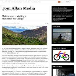 Matavenero – visiting a mountain eco-village
