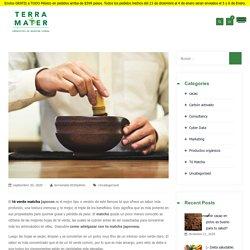 ¿Qué es el Té Matcha y cómo puedes adelgazar con él? – Terra Mater