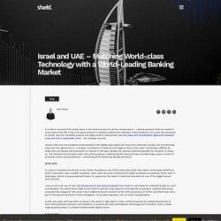 Dubai World Trade Centre (DWTC) and the Israel Export - Shield FC