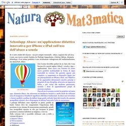 Schoolapp Abaco: un'applicazione didattica ...