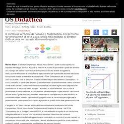Il curricolo verticale di Italiano e Matematica. Un percorso di costruzione in rete dalla scuola dell'infanzia al biennio della scuola secondaria di secondo grado