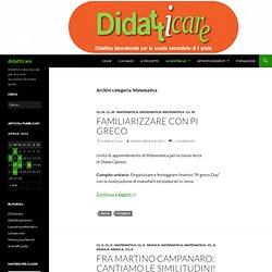 Matematica - didattIcare