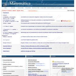 Revista Digital Matematica, Educación e Internet