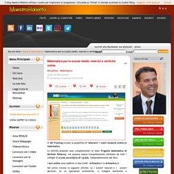 Matematica per la scuola media: esercizi e verifiche online
