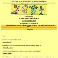 matematica e geometria per bambini