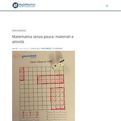 Matematica senza paura: materiali e attività