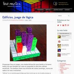 Edificios, juego de lógica - Tocamates - matemáticas y creatividad