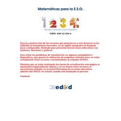 Matemáticas para la ESO