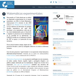 Matemáticas experimentales