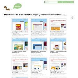 Matemáticas de 2º de Primaria: Juegos y actividades interactivas