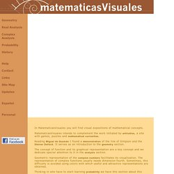 Matematicas Visuales | Home