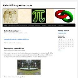 Matemáticas y otras cosas