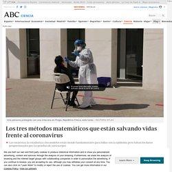 Los tres métodos matemáticos que están salvando vidas frente al coronavirus
