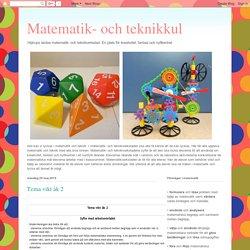 Matematik- och teknikkul: Tema vikt åk 2