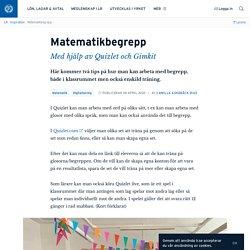 Matematikbegrepp · Camilla Askebäck Diaz