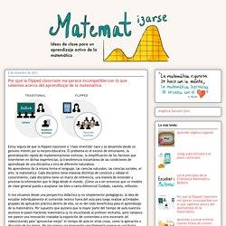 Matematizarse: Por qué la flipped classroom me parece incompatible con lo que sabemos acerca del aprendizaje de la matemática
