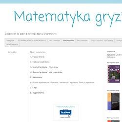 Matematyka gryzie: Klasa 2 matematyka