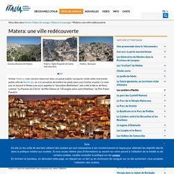 Matera: une ville redécouverte