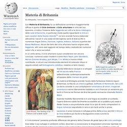 Materia di Britannia