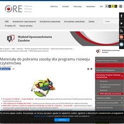 NPRC Materiały do pobrania - Ośrodek Rozwoju Edukacji