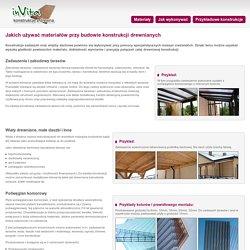 Materiały na wykonanie zadaszenia tarasu lub wiaty