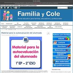 Material para la autoevaluación del alumnado - Familia y Cole