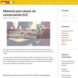 Material para clases de conversación ELE – Espanhol na Rede