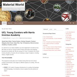 Material World | A Global Hub for Thinking About Things