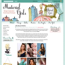 Material Girls | Interior Design Blogs | Decorating & Home Décor
