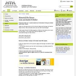 Lättläst - Material för lärare <BR>som använder 8 Sidor