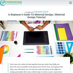 Principles of Material Design
