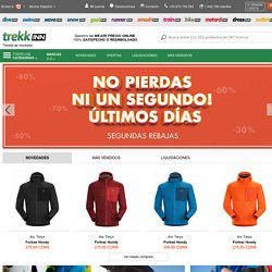 Tienda online para comprar material de montaña, senderismo, trekking