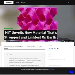 MIT scientists develop new super strong graphene - INSIDER