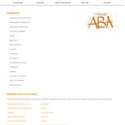 Materiale per sessioni ABA